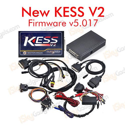 New KESS V2 firmware v5.017 MASTER ECU Remapping