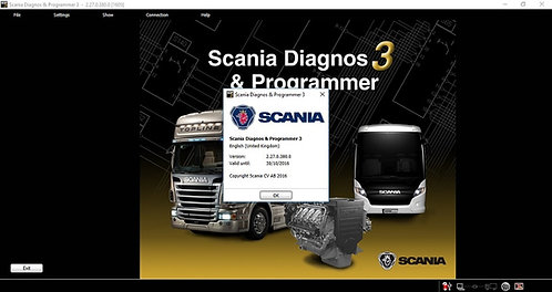 Scania SDP3 v2.40.2 Diagnostic & Programmer software