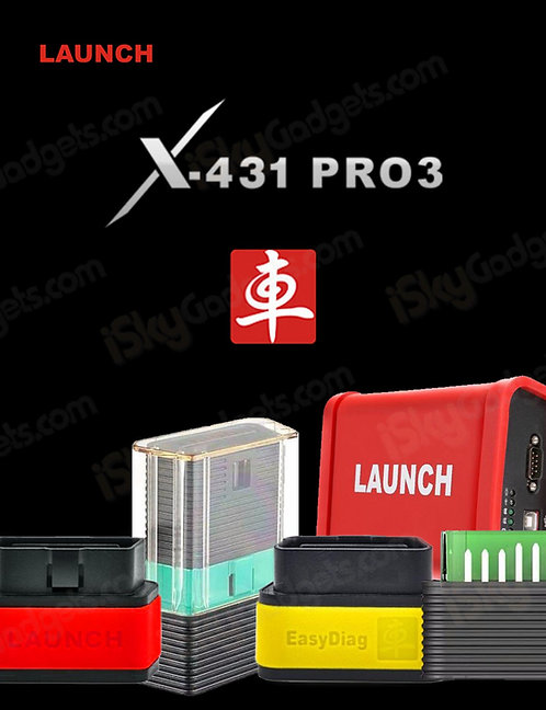 LAUNCH x431 Pro 3 Online Activation for All Launch Bluetooth Connectors