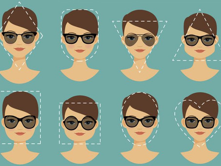 These sunglasses fit your face's shape.