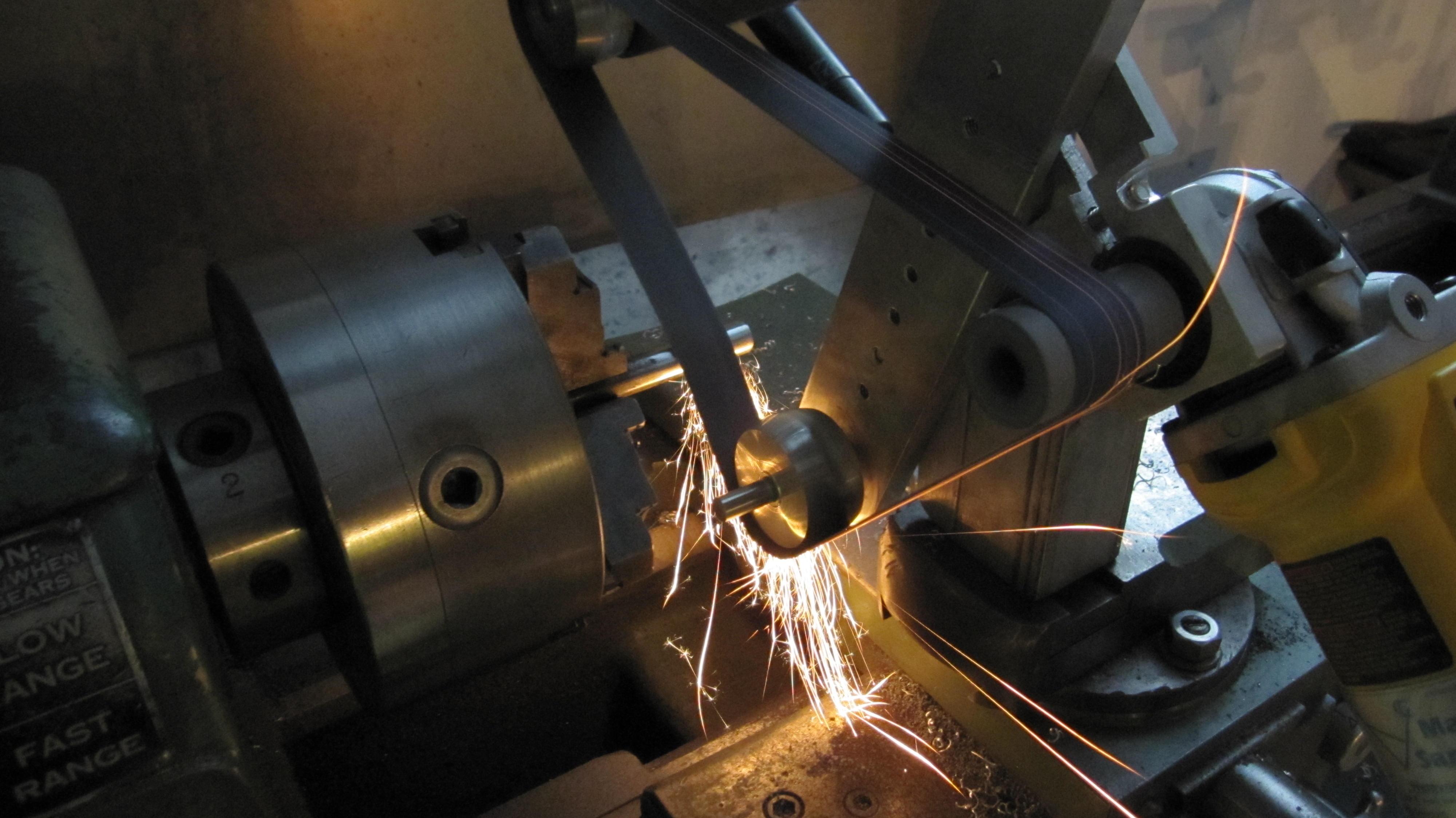 belt sander, tool post grinder