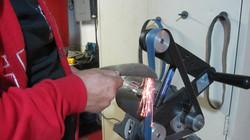 belt sander , Knife sharpening