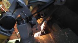 Tool post sander