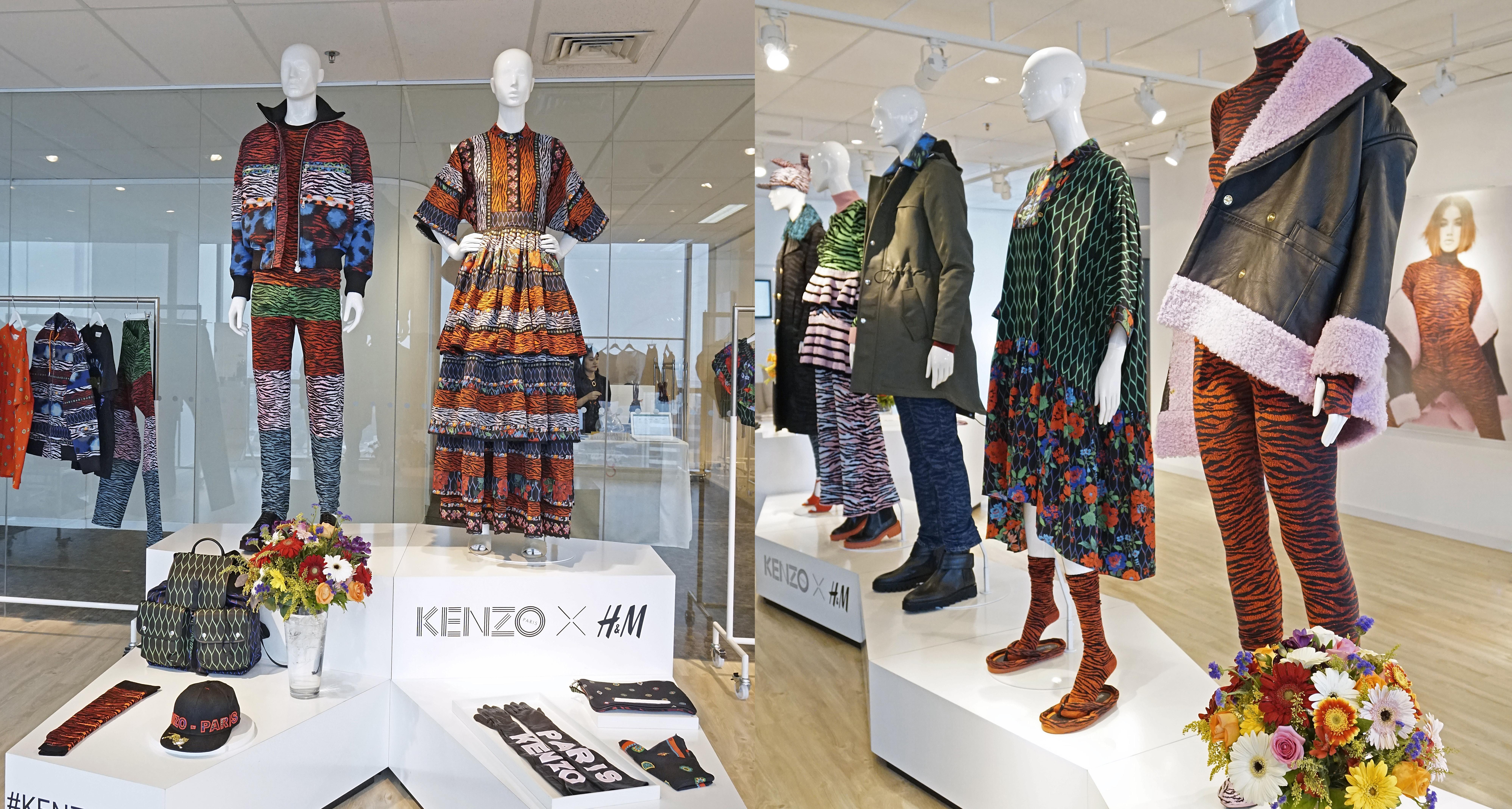 KENZO X H&M Double