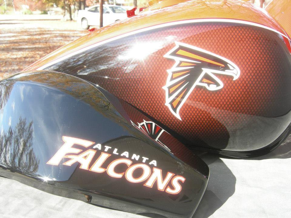 Atlanta Falcons Honda VTX1300R