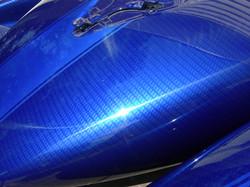 Faux carbon fiber