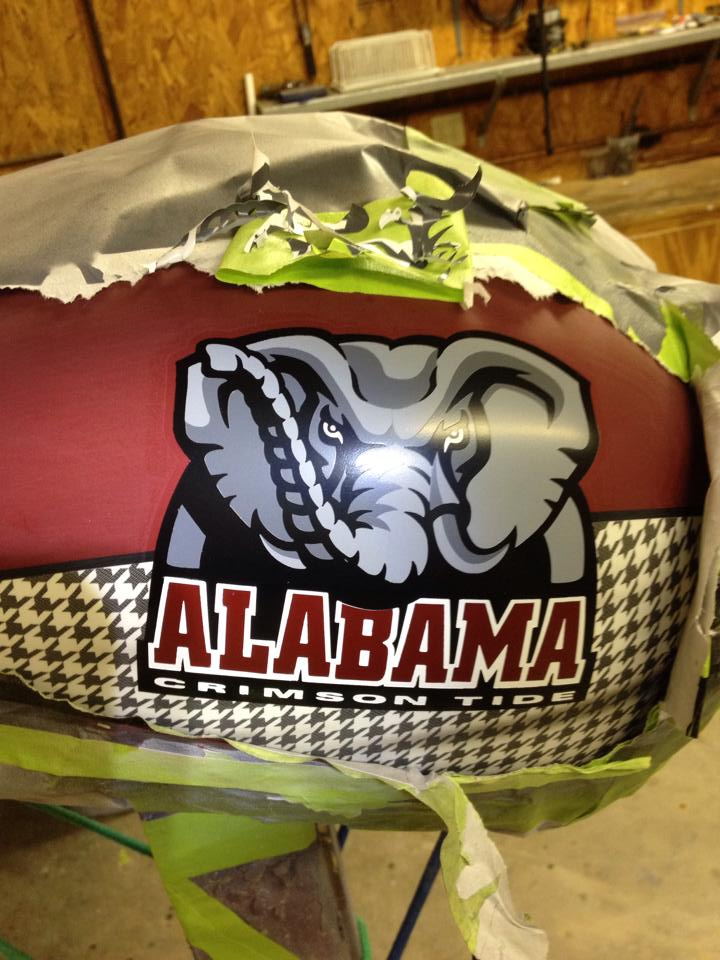 Roll Tide Alabama VTX1800C