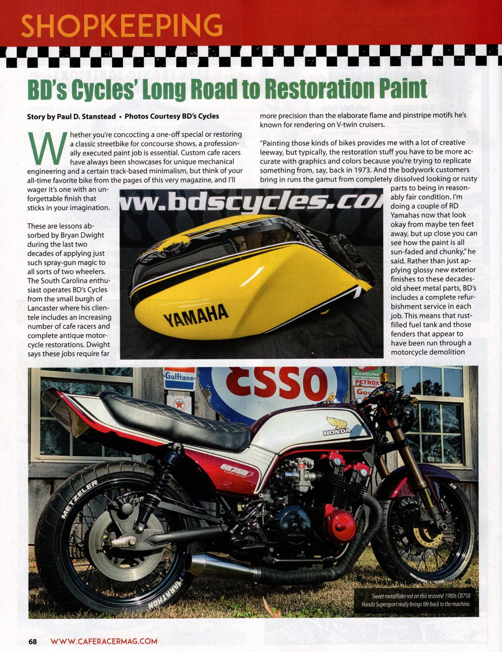Cafe Racer March 2020 2