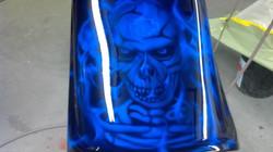 HD airbrushed skulls