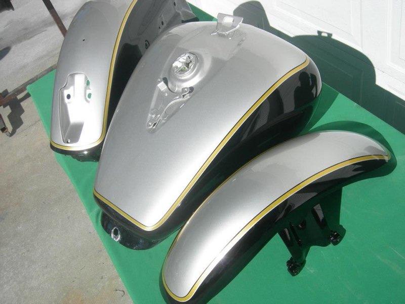 Clean silver/black VTX
