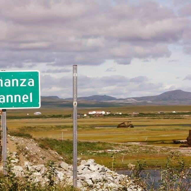 Solomon View from Bonanza Bridge