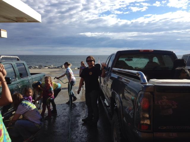 Greg at car wash