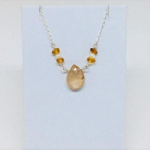 Natural Topaz Necklace