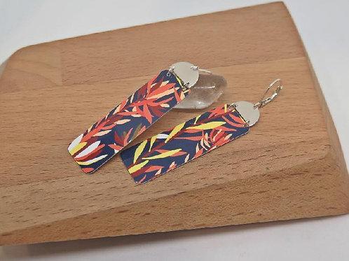 Luecadendra Rectangle Earrings