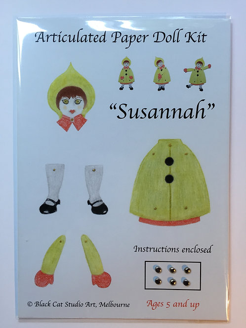 Articulated Paper Doll Kit: Susannah