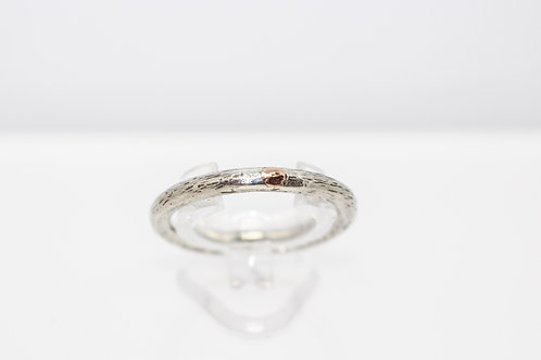 Gold Detail & Sterling Silver Ring