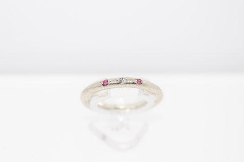 Australian Sapphire & Tanzanite Ring