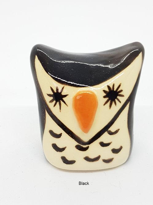 Ceramic Square Owls