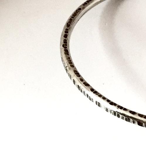 """Bangle Jangle"" Bracelet in sterling silver Medium"