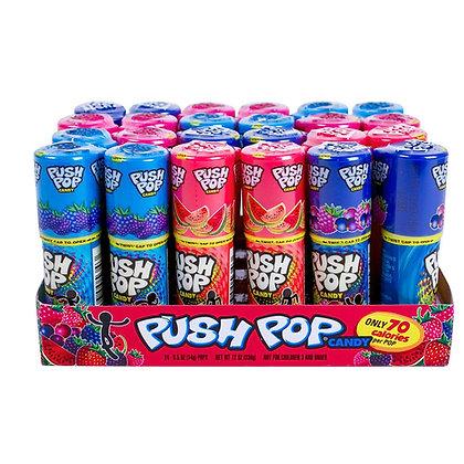 Push Pops Assorted Colors - Fruit