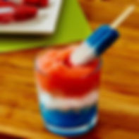 Red, White, & Blue Cocktails