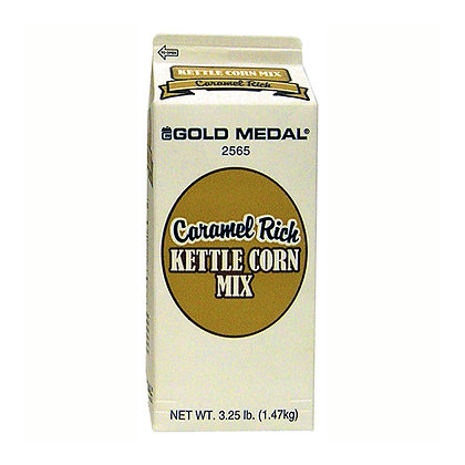 Popcorn Flavor - Kettle Corn - Caramel Rich