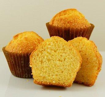 Muffins - Unbaked - Pan Free - 4.25 oz - Corn