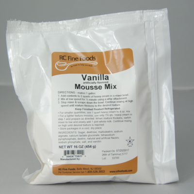 Mousse Mix - Vanilla