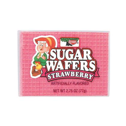 Sugar Wafers - Strawberry