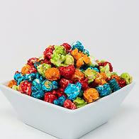 Rainbow Confetti Popcorn