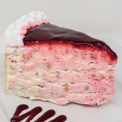 Ice Cream Cake - Strawberry Cheesecake