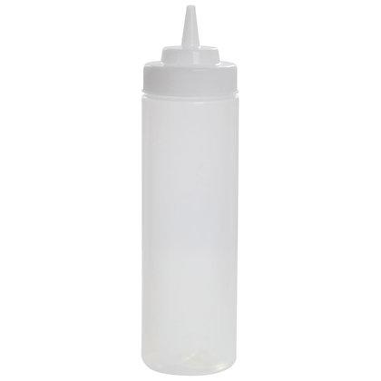Squeeze Bottle 24 oz Clear
