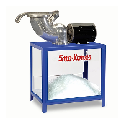 Sno-Kone Machine - Shave-A-Doo