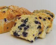 Cake Loaf - Unbaked - Blueberry