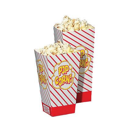 Popcorn Boxes #48 - Open Top Box