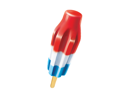 Bomb Pop - Red, White, and Blue