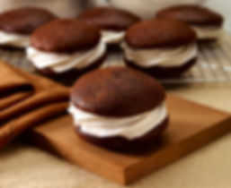 Whoopie Pie Shells - Chocolate