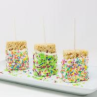 Custom Rice Krispy  Pops