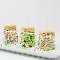 Custom Rice Krispy  Pops