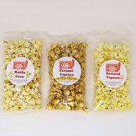 Custom Private Heat Sealed Bags of Popcorn