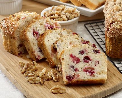 Baked Loaf - Cranberry Nut