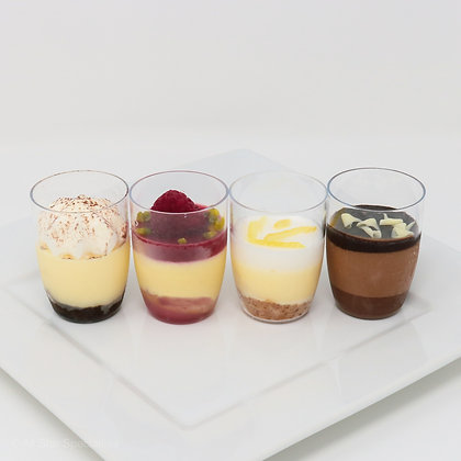 Mini Mousse Cups with Spoons