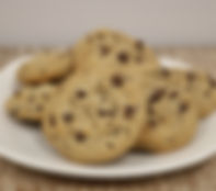 Unbaked - Bake N' Joy - 1.25oz. Cookie - Vegan Chocolate Chip