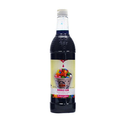 Sno-Kone Syrup - Bottle - Bubblegum
