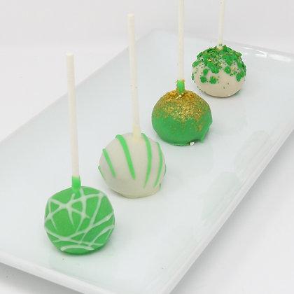 St. Patrick's Day Cake Pops