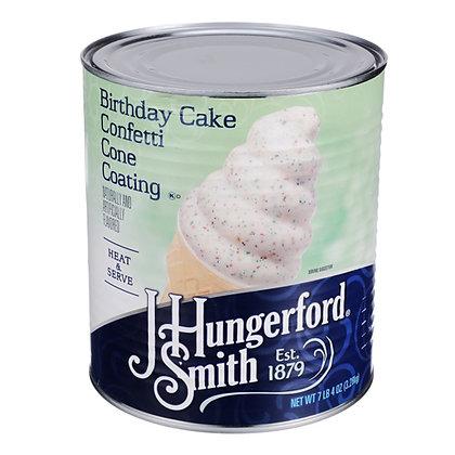 Cone Coating - Birthday Cake
