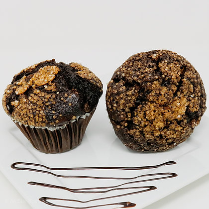 Baked Muffins - Jumbo - Double Chocolate Chip