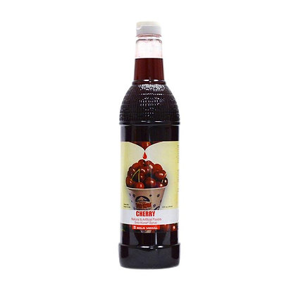 Sno-Kone Syrup - Bottle - Cherry