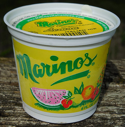 Marino's Italian Ice Cups
