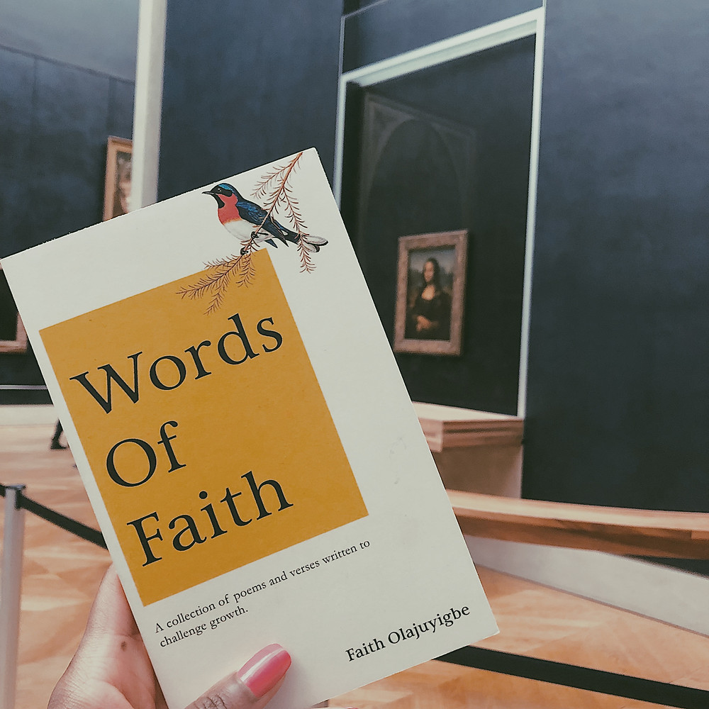 Words of Faith poetry book